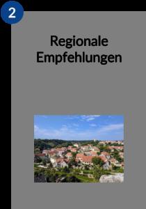 Regionale Empfehlungen